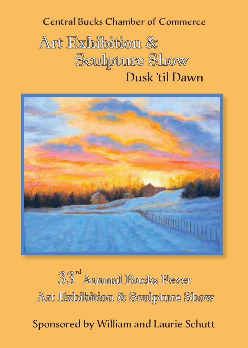 Central Bucks Chamber of Commerce 33rd Annual Bucks Fever Art Exhibition Opening Reception Thursday, April 18, 2019 at The Bridges at Warwick, 1600 Almshouse Road, Jamison, PA 18976. Visit the Central Bucks Chamber of Commerce website for more information.